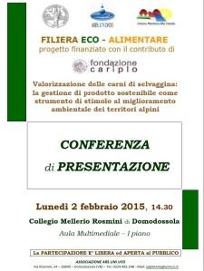 PresentazioneProgettoFilieraEco-Alimentare2feb2015