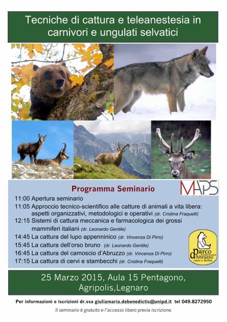 Seminario Tecniche di cattura_25mar2015_Padova