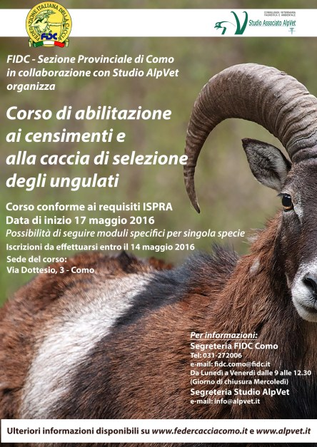 Locandina Corso selezione Ungulati_Como
