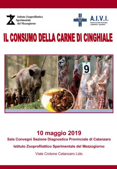 LocandinaCinghiale_IZS Catanzaro